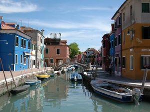 Burano, Venise.