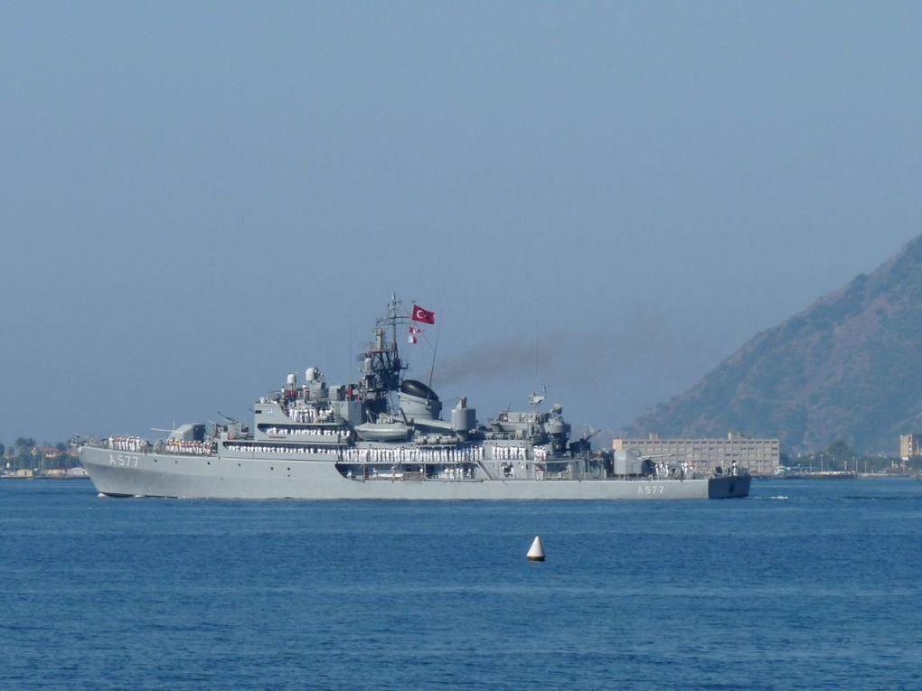 SOKULLU MEHMET PASSA  A577 ,Frégate de la marine Turque le 04 septembre 2011