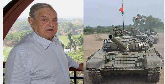 L'armée birmane saisit les comptes bancaires reliés à l'Open Society de George Soros et annonce des mandats d'arrêt contre 11 de ses membres.