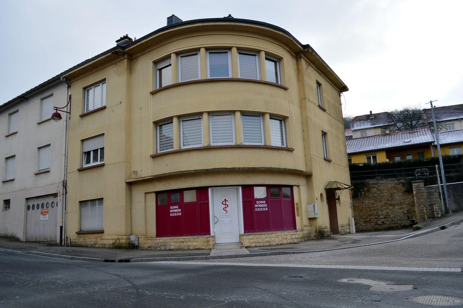 N° 46 rue Clemenceau à Algrange - Boucherie - Cabinet de soins