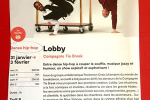 Lobby spectacle de Danse Hip Hop