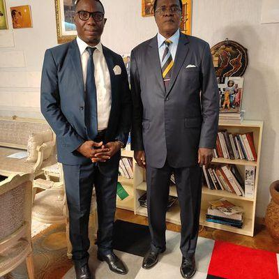 Rencontre au sommet entre le Secrétaire général du  CEE et le Président du MPDR et COMICODI