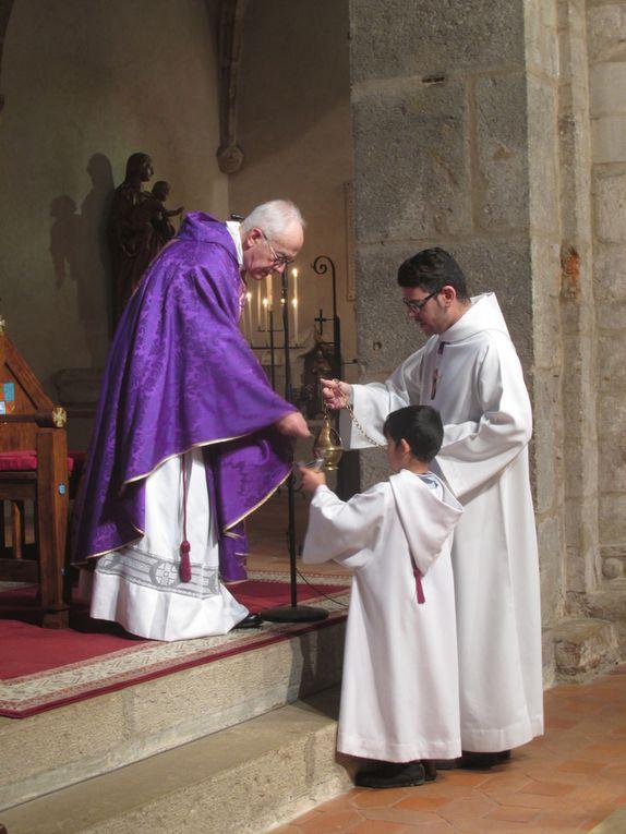 Messe du premier dimanche de l'avent - 3 décembre 2017 - avec M. l'abbé Laffargue
