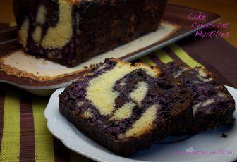 cake marbré aux trois saveurs