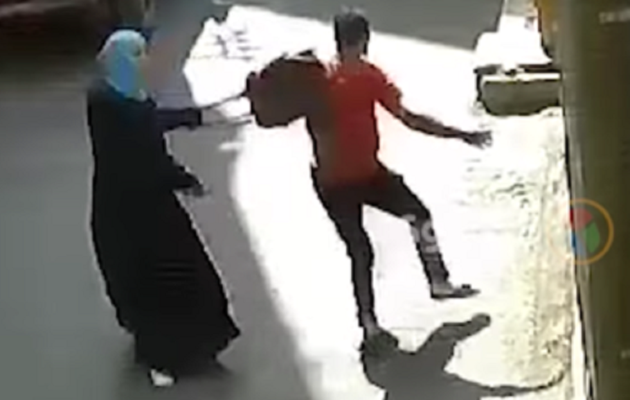 VIDEO: Egyptian woman fights back after sexual...