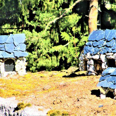 Feenhäuser (Zwergendorf) am Hackelstein bei Fuchsmühl