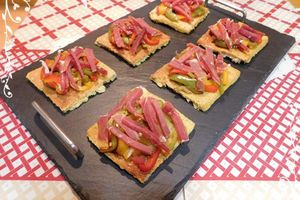 Tartines basquaises