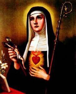 Preghiera per le Anime del Purgatorio di Santa Matilde