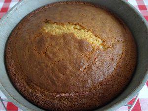 Gâteau au caramel et crème pâtissière