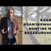 KAGAME: ABANYARWANDA BONYINE NIBO BAZAKURUHURA UMUTWARO WIKOREYE