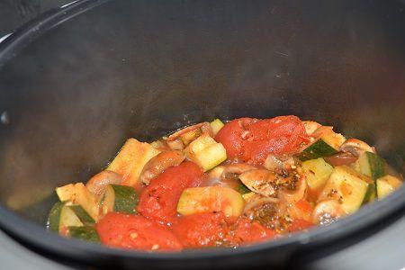 Légumes à la provençale  recette au cookeo