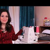 How to Thread a Serger - Overlock Machine