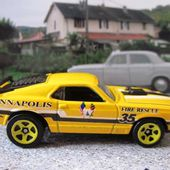 70 FORD MUSTANG MACH 1 HOT WHEELS 1/64 - car-collector.net