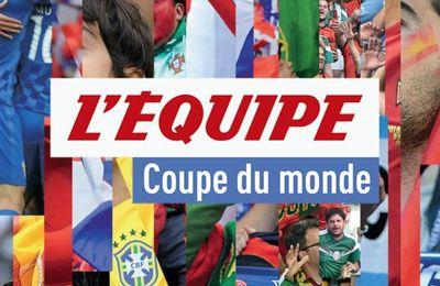[Infos TV] Découvrez le dispositif de la chaîne L'Equipe pour suivre la Coupe du monde de Football !