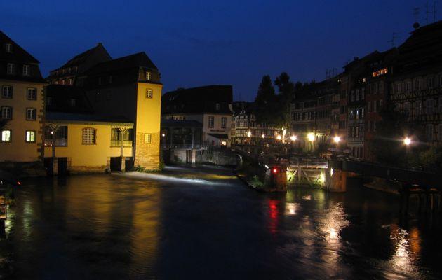 Balade dans Strasbourg by night - 16 septembre 2009