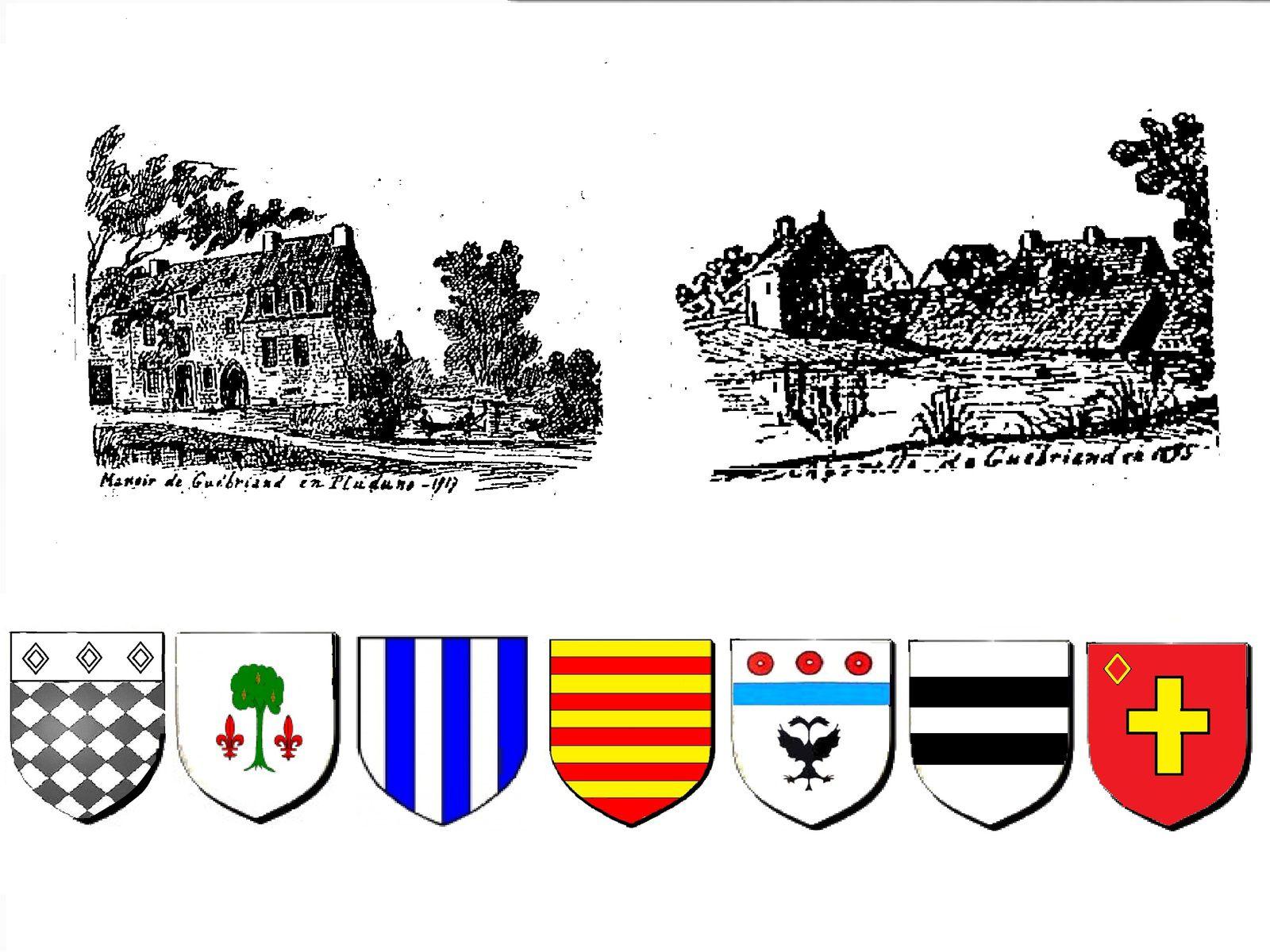 La seigneurie de Guébriant en Pluduno.