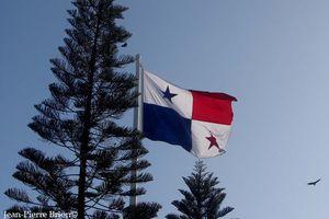 Le drapeau panaméen