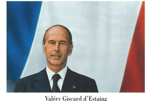 VALERY GISCARD D'ESTAING (1/6 )