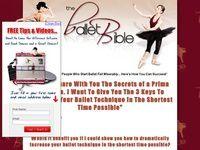 Ballet Bible Dancing Instruction
