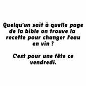 Humour Bible: Cherche recette pour un miracle - Doc de Haguenau