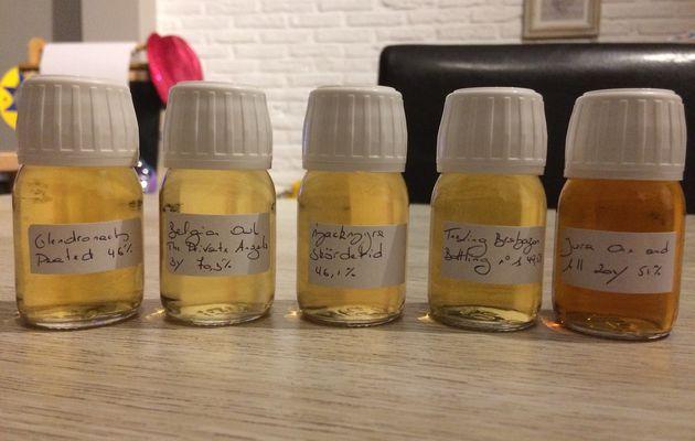Gagnez 5 samples avec le blog Passion du Whisky