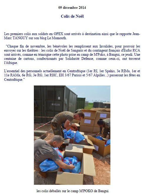 documents du site Solidarité Défense