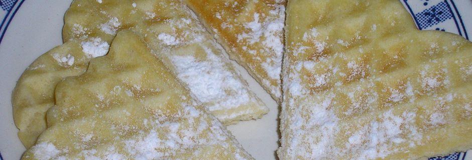 gaufres à la crème