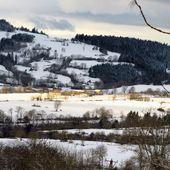 Villages et hameaux altiligériens sous la neige - Dans la Bulle de Manou