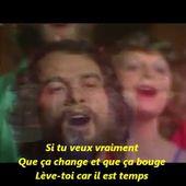 Michel Fugain - Le chiffon rouge (avec sous-titres)