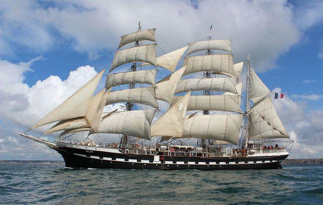 Le Belem reprend la mer, 19 navigations prévues cette année