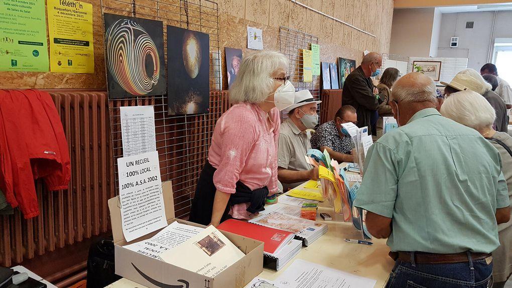 Mane - Cagire Garonne Salat - le forum des associations 2021 en images