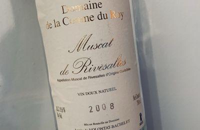 Muscat de Rivesaltes 2008 Domaine de la Coume du Roy