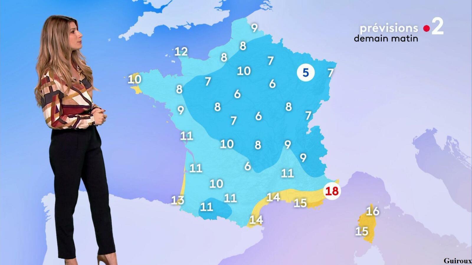 Chloé Nabédian 22/09/2021 Journaux météo du soir