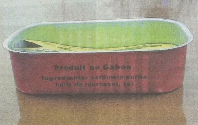 Sardines made in Gabon