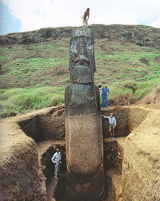 Ancient Easter Island: The Explorations Of Thor Heyerdahl see below...