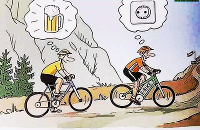 Humour - Cyclisme - Rugby