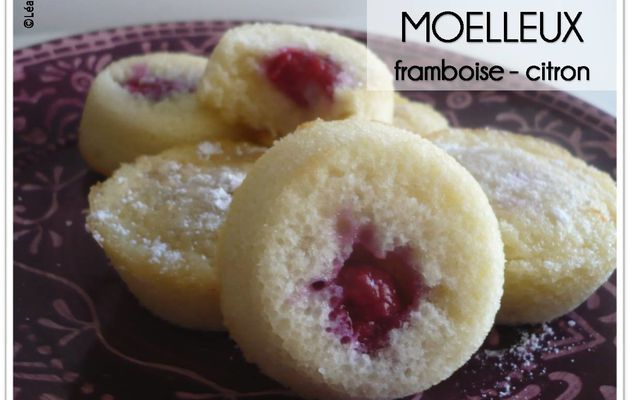 Moelleux framboise - citron