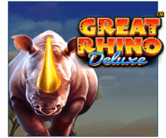 machine a sous Great Rhino Deluxe logiciel Pragmatic Play
