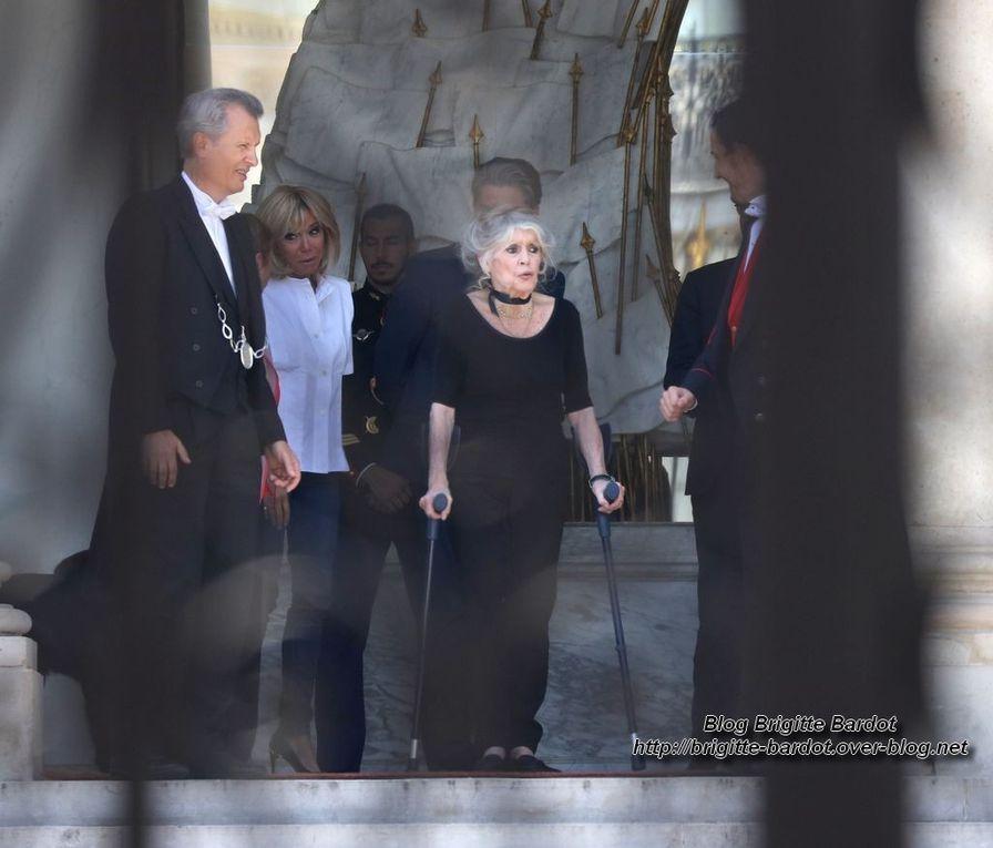 Brigitte Bardot reçu par le président Macron : Toutes les photos...