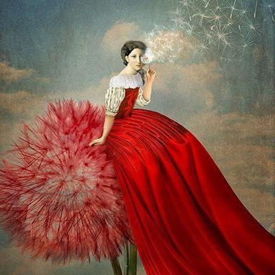 Femme fleur...