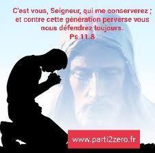 """Psaume de David 11 """" Confiance du juste """""""