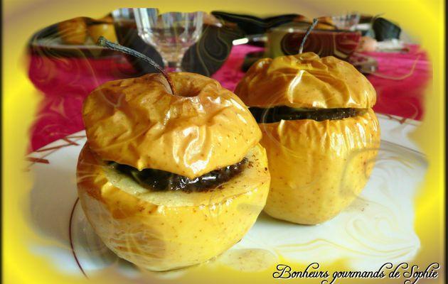 Menu d'automne : Pommes au boudin et à la châtaigne (2)