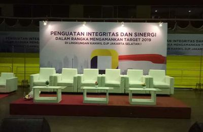 Backdrop Seminar, Sewa Partisi Pameran, Sewa Panel R8