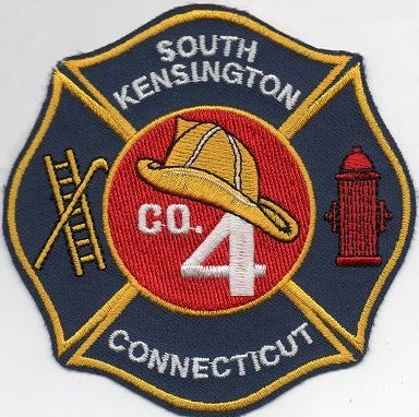 Echange l'écusson des pompiers de SOUTH KENSINGTON, au USA