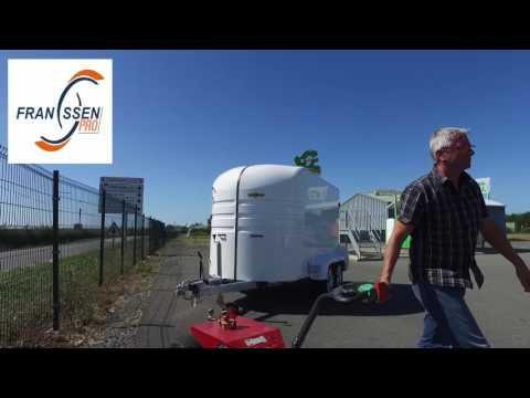 Le MULTI-MOVER en action : déplacement de remorque Humbaur rexus 2 essieux