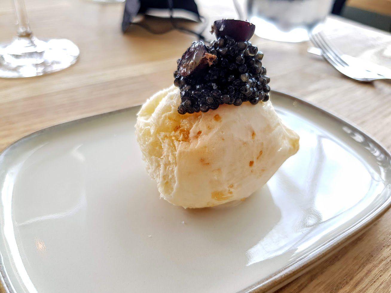 Mise en bouche Nosso restaurant Paris 13