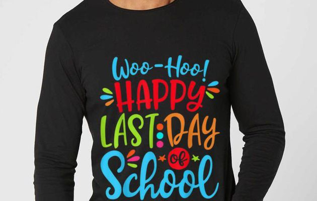 Official Woo-Hoo Happy Last Day Of School Shirt