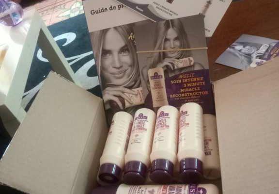 Test après shampooing AUSSI