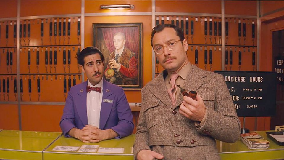Du style (The Grand Budapest Hotel de Wes Anderson)