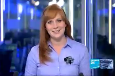 2012 01 10 @06H30 - CATHERINE NICHOLSON, FRANCE 24, THE NEWS